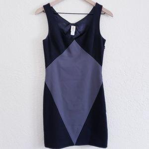 Abaetecolor block professional sheath dress sz 0